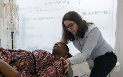 Mes partenaires, les professionnels de santé : Annabelle Choisnard – Chiropracteur